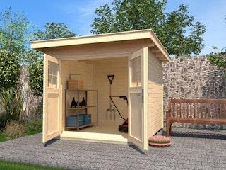 Weka Gartenhaus 179 - 28 mm