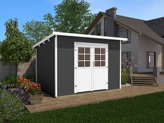 Weka Gartenhaus 219 wekaLine - 28 mm