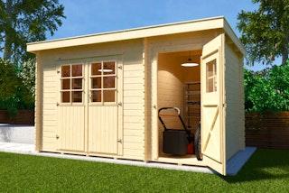 Weka Gartenhaus 254 - 28 mm