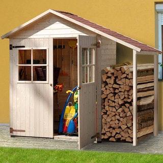 Weka 14 mm Garten- und Terrassenschrank 351 A/357 A mit Schleppdach