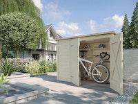 Weka Fahrrad- und Mülltonnenbox 367 - 19 mm