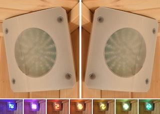 Weka Farblicht-Set (2 LED Felder)