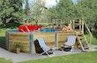 Weka 45 mm Swimmingpool 593 B Gr. 2 471 x 571 cm