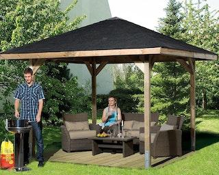 Weka Gartenoase 651 A - Sparset inkl. Schindeln