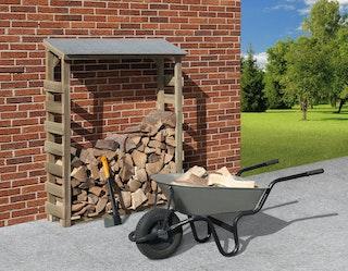 Weka Brennholzlager 663 A kesseldruckimprägniert 19 mm 125 x 60 cm