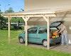 Weka Anlehn-Carport