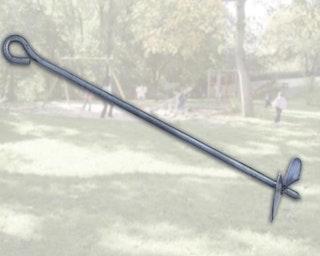 Weka Bodenanker-Set für Tabaluga Klettergerüst