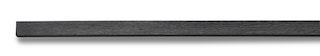 Weltholz millboard Abschlussprofil flexibel ENHANCED GRAIN Brushed Basalt