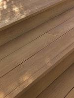 Weltholz millboard BULLNOSE Terrassendiele ENHANCED GRAIN Coppered Oak