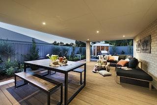 Weltholz millboard Terrassendiele ENHANCED GRAIN Coppered Oak