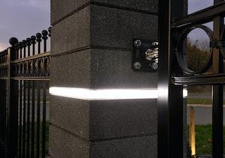 WESERWABEN Trend-Line LED-Lichtelement Kunststoff mattiert, weiße LEDs