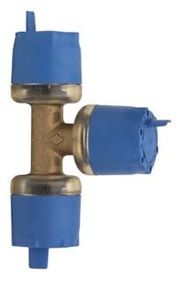 Sanitop Wiroflex WIROSTECK T-Stück 16 x 16 x 16 mm, Stecksystem