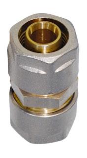 Sanitop Wiroflex WIROFLEX Kupplung 16 x 16 mm Komplettlösung incl. Adapter, Schraubsystem