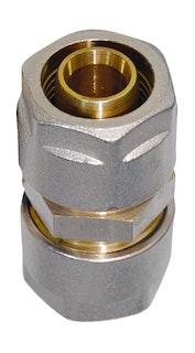 Sanitop WIROFLEX Kupplung 20 x 20 mm Komplettlösung incl. Adapter, Schraubsystem