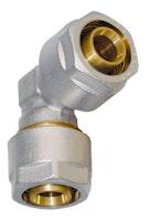 Sanitop WIROFLEX Winkel 20 x 20 mm Komplettlösung incl. Adapter, Schraubsystem