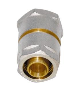 Sanitop Wiroflex WIROFLEX Klemmring-Verschraubung 16 x 1/2 IG Komplettlösung incl. Adapter, Schraubsystem