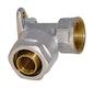 Sanitop Wiroflex Wandscheibe 16 x 1/2 IG Komplettlösung incl. Adapter, Schraubsystem