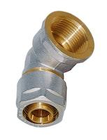 Sanitop Wiroflex WIROFLEX Winkel 20 x 1/2 IG Komplettlösung, Schraubsystem
