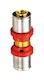Sanitop Wiroflex WIROPRESS Kupplung 20 x 20 mm, Presssystem