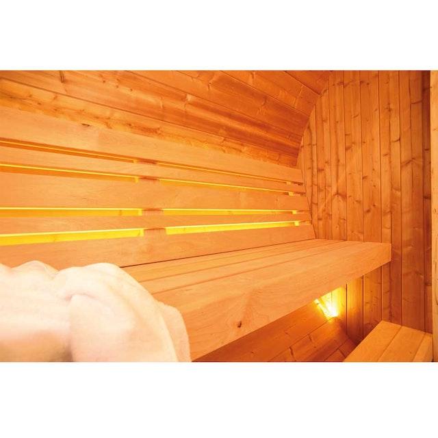 Wolff Finnhaus LED-Beleuchtung für Saunafass de luxe | Mein-Saunashop.de