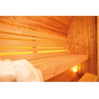 Wolff Finnhaus LED-Hintergrundbeleuchtung für Saunafass de luxe