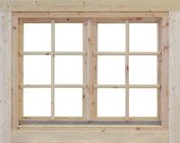 Wolff Finnhaus Doppel-Fenster 70 Einhand isolierverglast