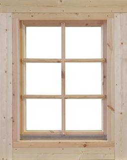 Wolff Finnhaus Einzel-Fenster 70 Einhand