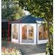 Wolff Finnhaus Lugano 42-A/B Doppelfensterelement zum Öffnen im Tausch gegen Wandelement