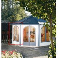Wolff Finnhaus Lugano 42-A/B Doppelfensterelement geschlossen im Tausch gegen Wandelement