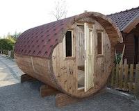 Wolff Finnhaus Saunafass Fasssauna 400 (2-Raum)