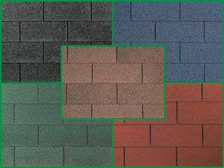 Wolff Finnhaus Rechteck Dachschindeln