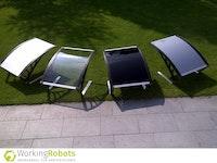 Working Robots Mower-Dach