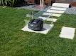 Working Robots Mower-Haube Acryl inkl. Rückwand - groß