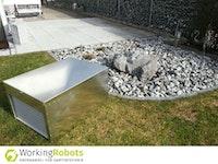 Working Robots Mower-Garage Alu/Color