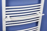Ximax Handtuchstange gebogen 570 mm für Badheizkörper