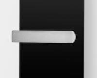 Ximax Handtuchhalter für Paneelheizkörper, einseitig offen