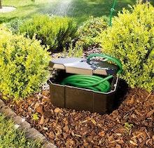 Als Schlauchbox mit Wasseranschluss einsetzbar